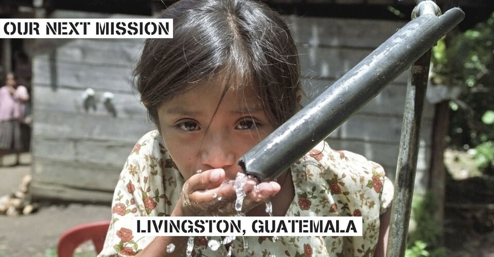Guatemala has a water scarcity problem; this summer we're going there to help