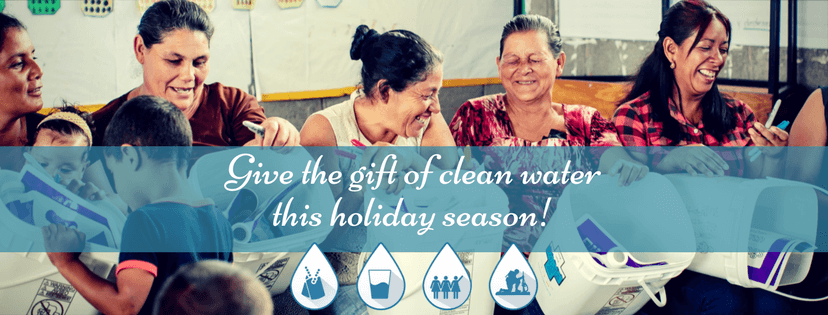 Give the gift of clean water this holiday!